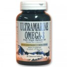 Ultramarine Omega-3 Virgin Salmon Oil Gelcaps 1080mg/90 Gelcaps