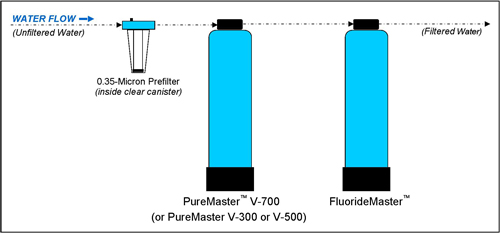 Setup Diagram of PureMaster and FluorideMaster
