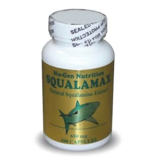 Squalamax - Natural Shark Squalamine Supplement - 650 mg/100 Capsules