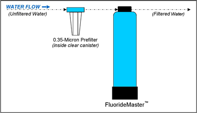 Setup Diagram of FluorideMaster